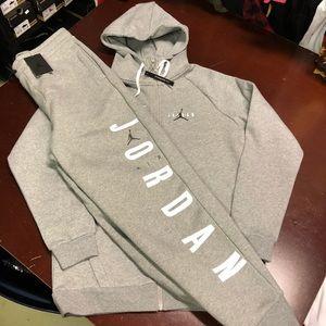 Jordan Jumpman Air HBR Full Zip Fleece sweatsuit